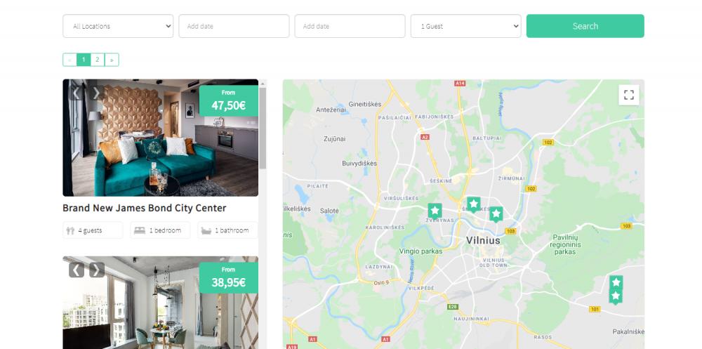 Nuoma-butų-trumpalaikė-ilgalaikė-airbnb-booking.com-